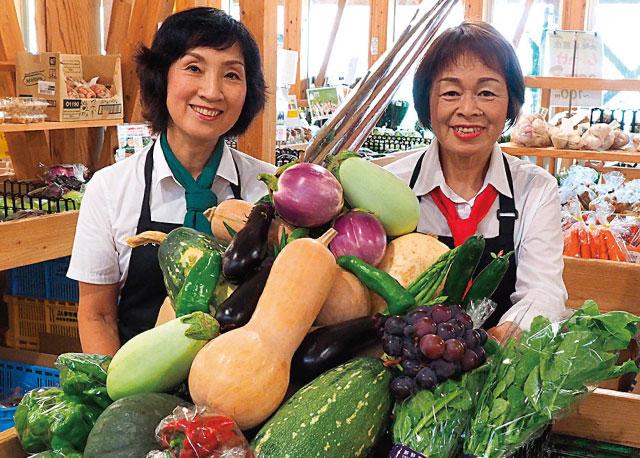 野菜ソムリエの活躍